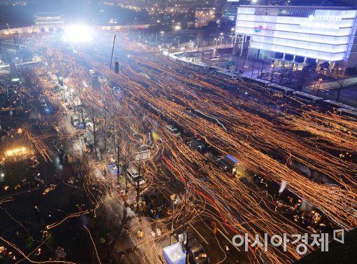 3일 서울 대규모 촛불집회, 지하철 비상편성…화장실 대폭 개방
