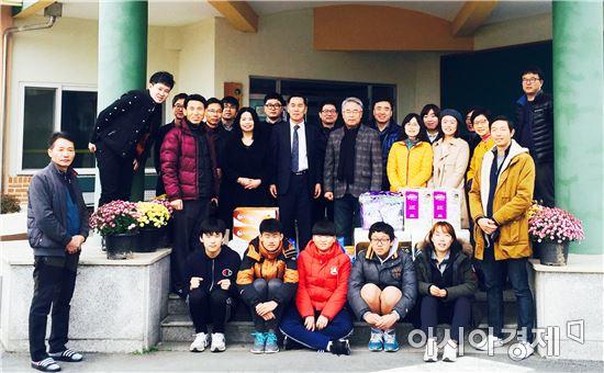 전남도교육청 학생생활안전과-강진군노인전문요양원 MOU 체결