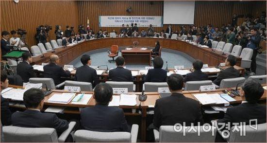 '최순실 게이트' 국정조사특위/사진=아시아경제 DB