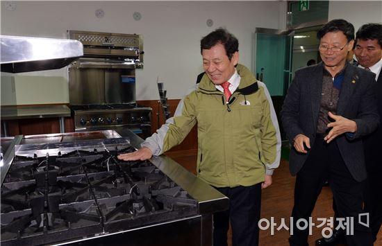 윤장현 광주시장, 명품강소기업 방문