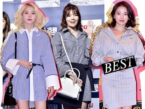 황승언, 레인보우 정윤혜, 천우희(왼쪽부터)