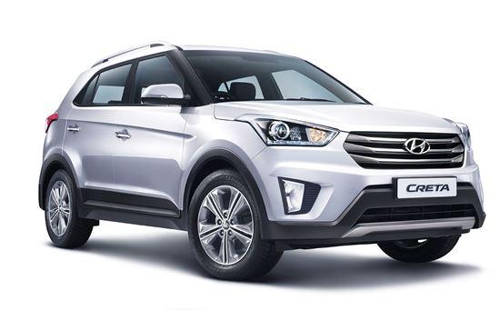 현대자동차가 인도 시장 전략 차종으로 내놓은 크레타.