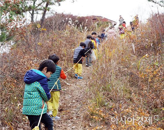 함평군 '자연생태공원 유아 숲 체험'성황리 마쳐