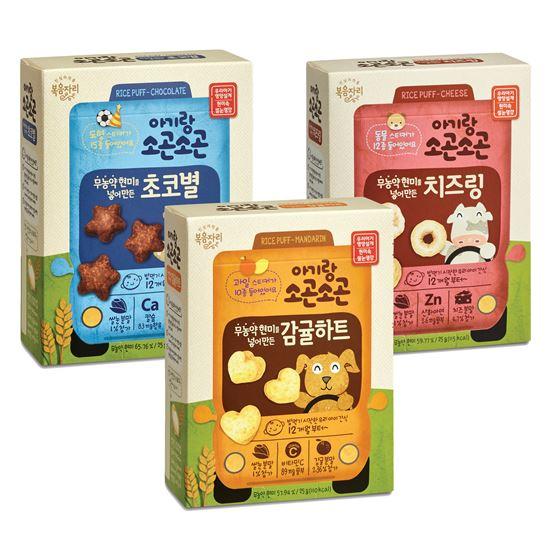 복음자리 '아기랑 소곤소곤' 스무디·쌀과자 출시