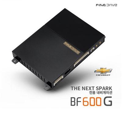 쉐보레 스파크 전용 디지털 셋톱박스 내비게이션 'BF600 G 더 넥스트 스파크(THE NEXT SPARK)'. 사진제공=파인디지털