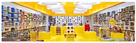 해외 레고 스토어(사진=레고 공식 홈페이지)