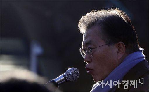 [포토]문재인 '국민이 이깁니다'