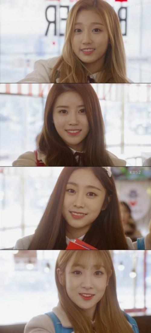 러블리즈. 사진=KBS2 '월계수 양복점 신사들' 방송 캡쳐