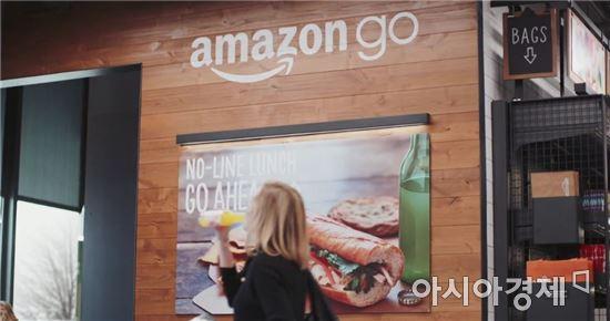 아마존은 내년초 첫번째 오프라인 상점인 '아마존고'를 연다고 5일(현지시간) 밝혔다. (출처:아마존고 홍보영상)