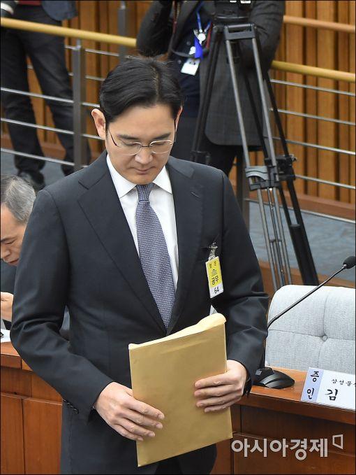 [포토]고개숙인 이재용 삼성 부회장