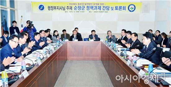 순창군·전북도 지역발전 핵심사업 전략짜기 머리 맞대