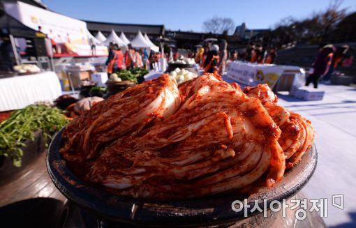 [포토]직접 만든 맛있는 김치