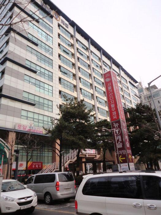 지난달 9일 열린 경매에서 4억4815만원에 낙찰된 서울 금천구 가산동의 전용면적 131.61㎡ 규모 아파트형공장이 소재한 건물전경.(사진= 지지옥션)