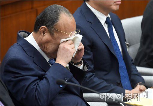 [포토]피곤한 김승연 회장