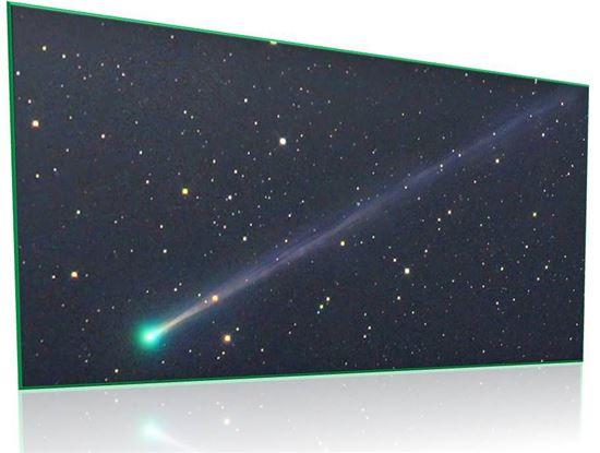 ▲12월31일 마지막 날 저녁에 초승달이 뜨는 자리에서 혜성을 확인할 수 있다.[사진제공=NASA]