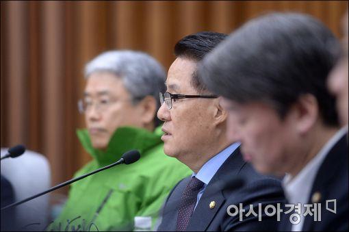 """박지원 """"정치는 현실…黃체제 일단 일정"""""""
