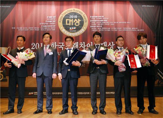 박가부대찌개 서울스퀘어점, 프랜차이즈대상 우수가맹점부분 수상