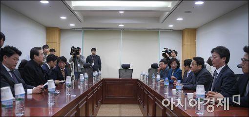 [포토]탄핵가결이후 첫 비상시국회의