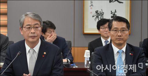 [포토]굳은 표정의 임종룡·진웅섭