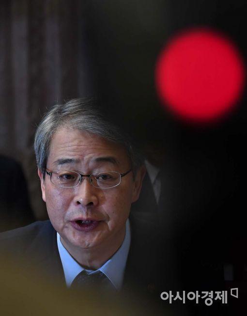 [포토]금융시장 안정 강조하는 임종룡 위원장
