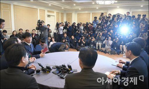 '4당 체제' 첫 원내지도부 회동…'여·야·정 정책국정 협의체 '상설 국회' 등 논의