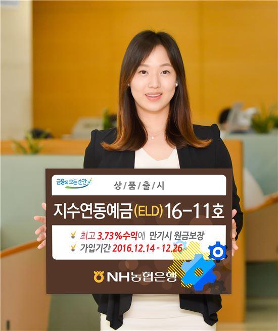 NH농협銀, 연 최고 3.73% '지수연동예금' 판매
