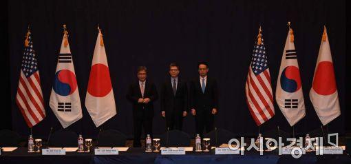 [포토]한미일 북핵 6자수석 회동