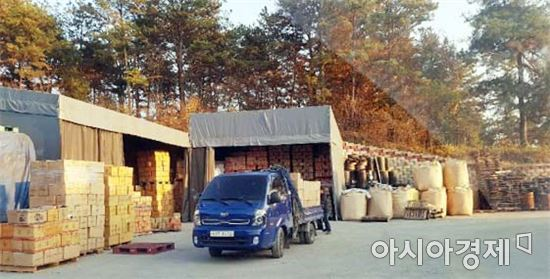 곡성군, 시설농가에 농업용 숯가루 100톤 무료 공급