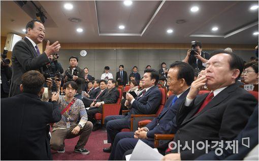 [포토]발언하는 서청원 의원
