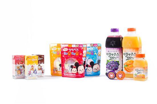 서울우유, '앙팡치즈 까요까요·꿀단지·아침에 주스' 윈터 에디션 출시