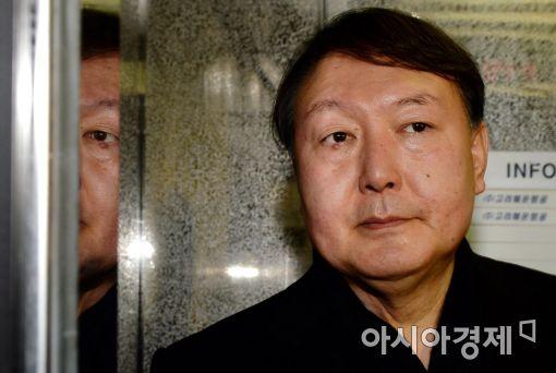 [포토]출근하는 윤석열 수사팀장