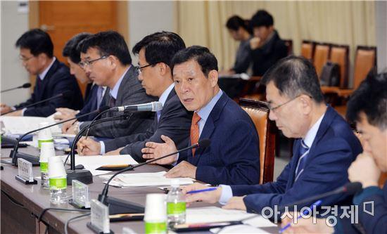 윤장현 광주시장, 대선공약 발굴 보고회 참석