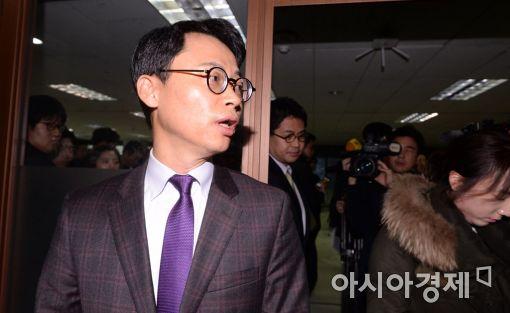 [포토]브리핑 마친 이규철 대변인