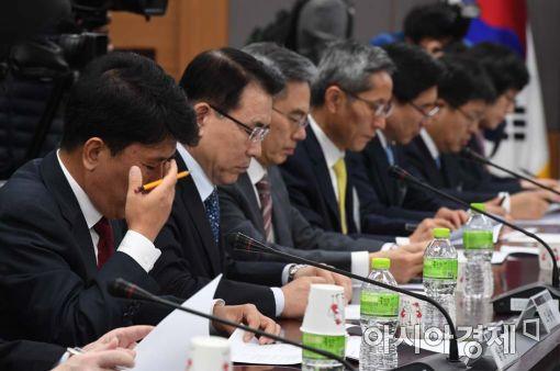 [포토]서민 중소기업 금융상황 긴급 점검회의