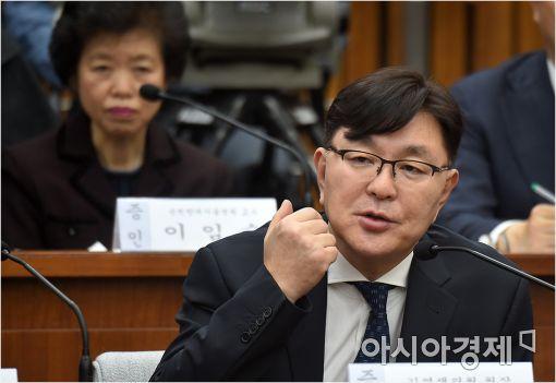 [포토]답변하는 김영재 원장
