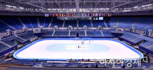[포토]평창올림픽 경기가 치뤄질 강릉 아이스아레나