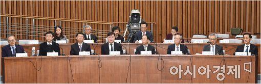 [포토]최순실-박근혜 게이트 국조 3차 청문회