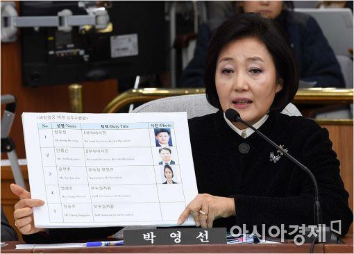 [포토]질의하는 박영선 의원