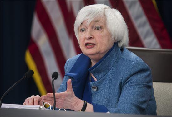 재닛 옐런 미국 연방준비제도(Fed) 의장 (사진=EPA연합)
