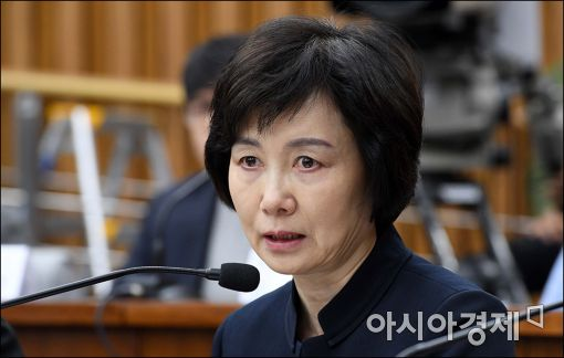 """최경희 전 이대 총장 """"시설물 보호 위해 경찰력 요청"""""""