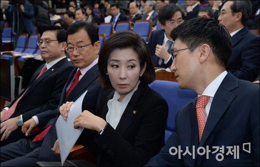 [포토]이야기 나누는 나경원·김세연