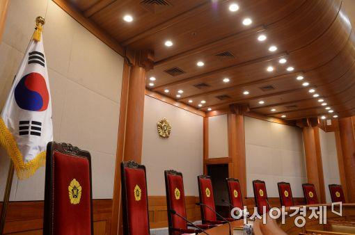 [포토]국민의 시선은 '헌법재판소'로