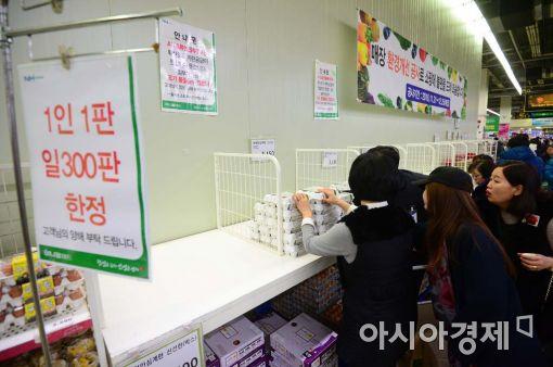 [포토]조류인플루엔자 확산에 판매 제한