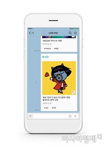 카카오, 모바일 이미지 검색 서비스 '라이브픽' 공개