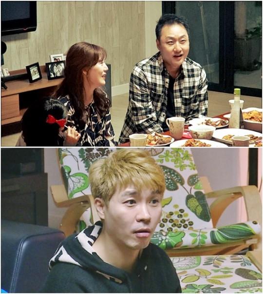 '미운우리새끼'에 출연한 박수홍/사진=SBS 제공