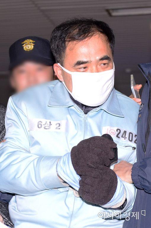 [포토]특검 첫 소환자 '김종'