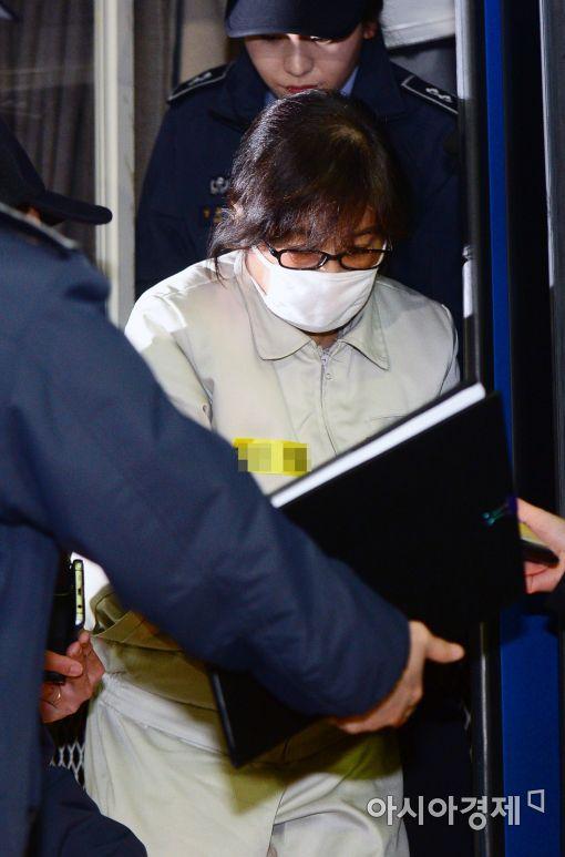 [포토]'비선실세' 최순실, 특검 소환