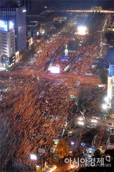 촛불집회. 사진=아시아경제DB