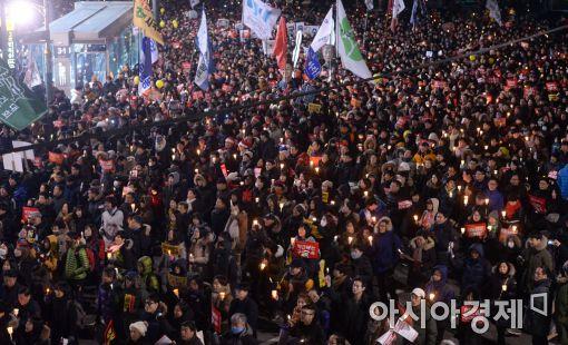 [포토]'청와대를 향한 행진'