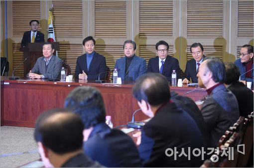 [포토]새누리 원외위원장-개혁보수신당 간담회